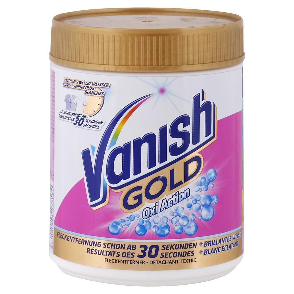 VANISH Oxi Action práškový odstraňovač škvŕn na biele prádlo 550 g